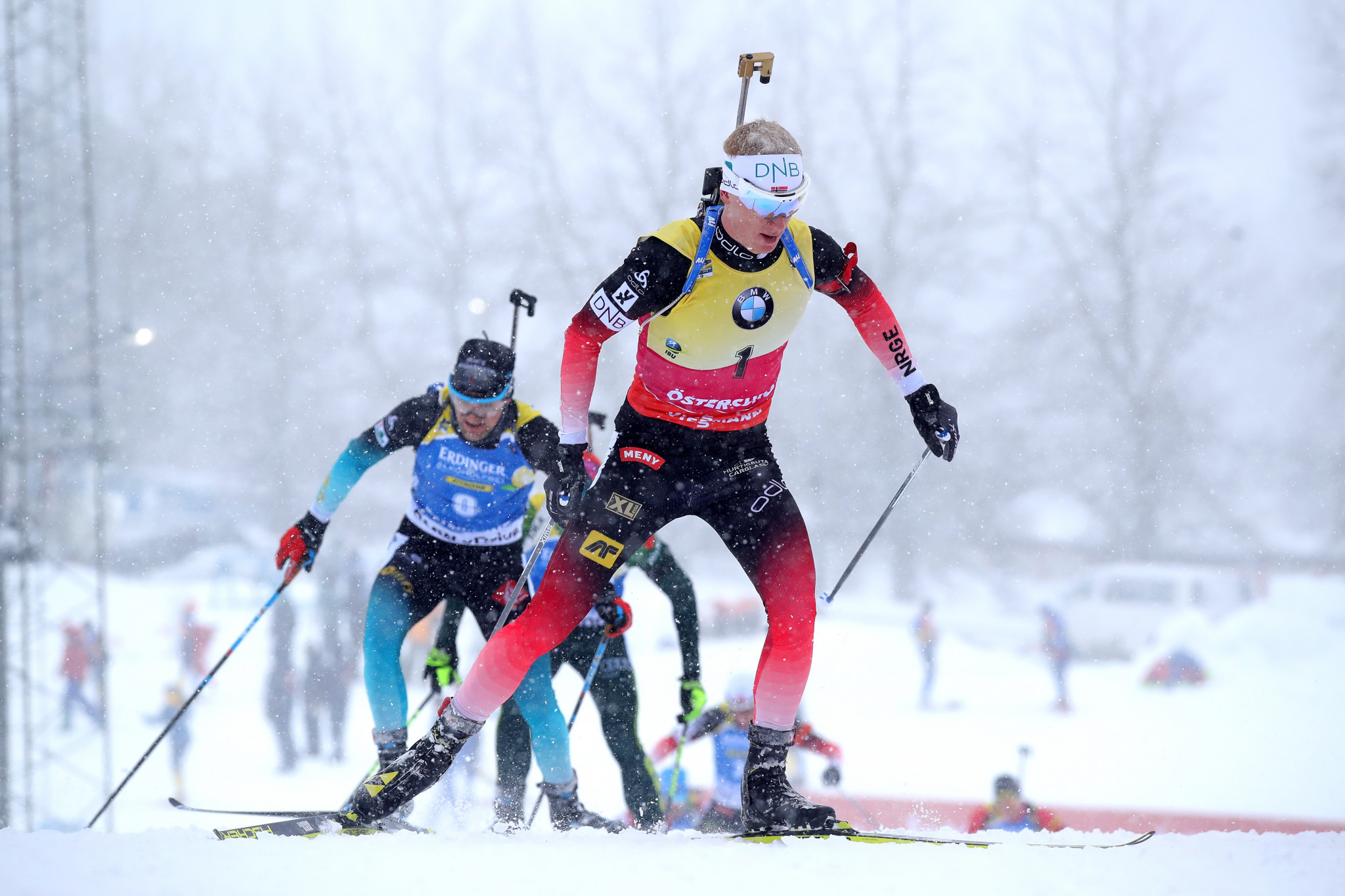 Norway's Johannes Thingnes Bø has already wrapped up the men's overall title ©Getty Images