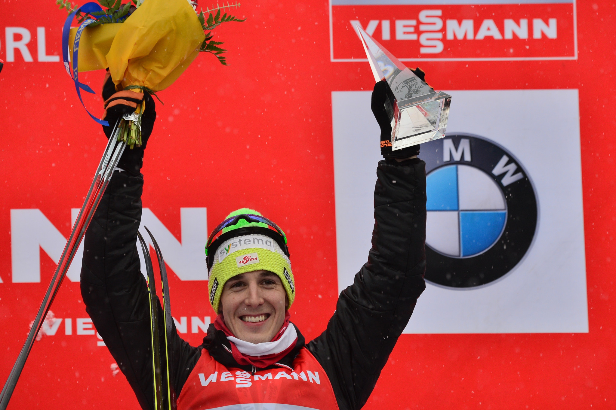 Revelations from Austrian cross-country skier Johannes Dürr on German television prompted the raid at the World Nordic Skiing Championships - leading to his arrest too ©Getty Images