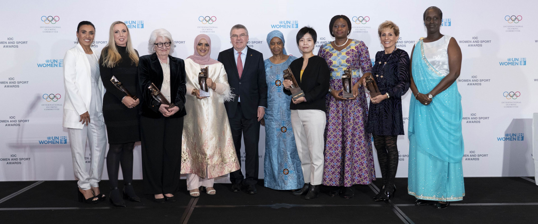 Baseball umpire wins World Trophy as IOC recognise women in sport