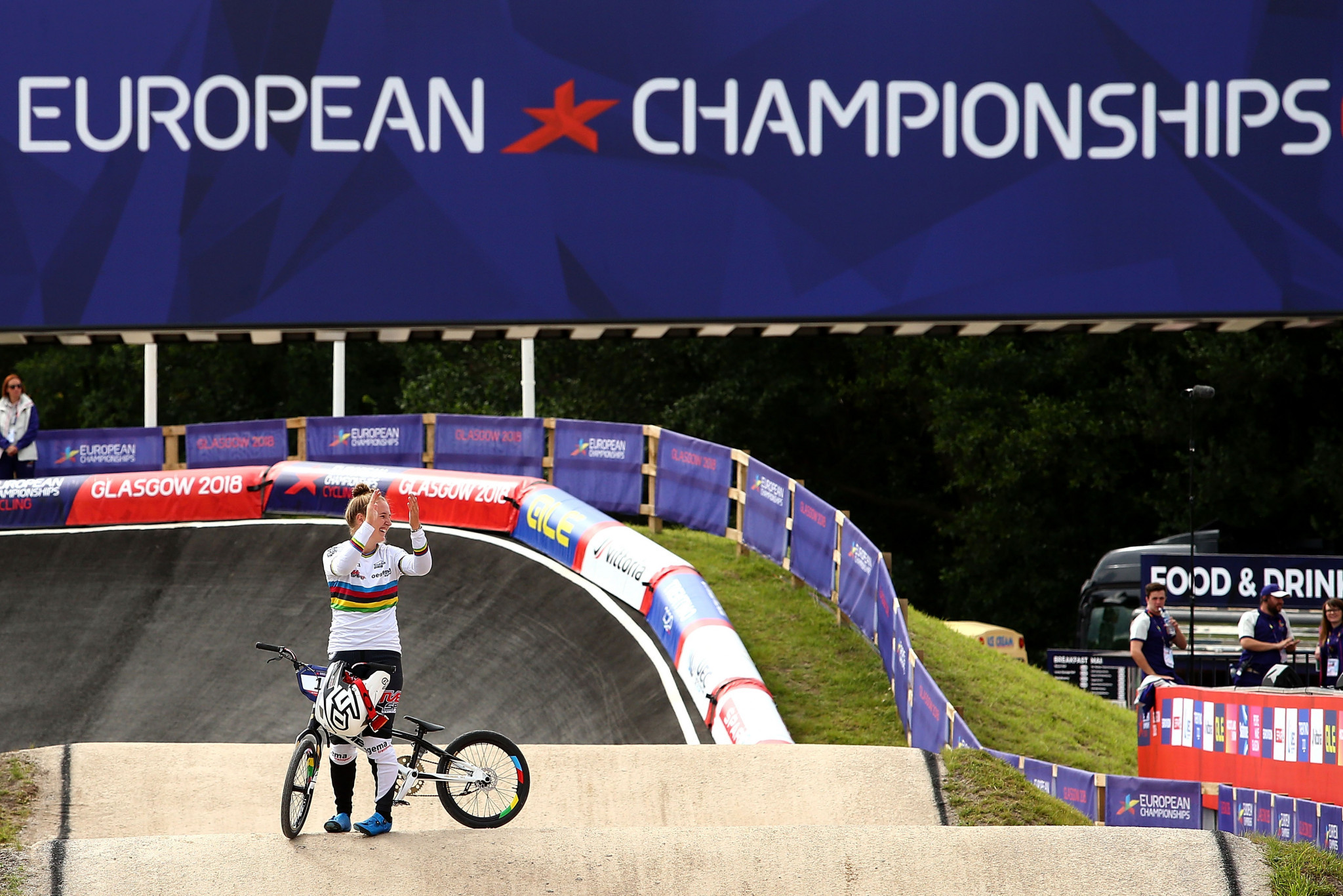 The first European Championships were held last year between Glasgow and Berlin ©Getty Images