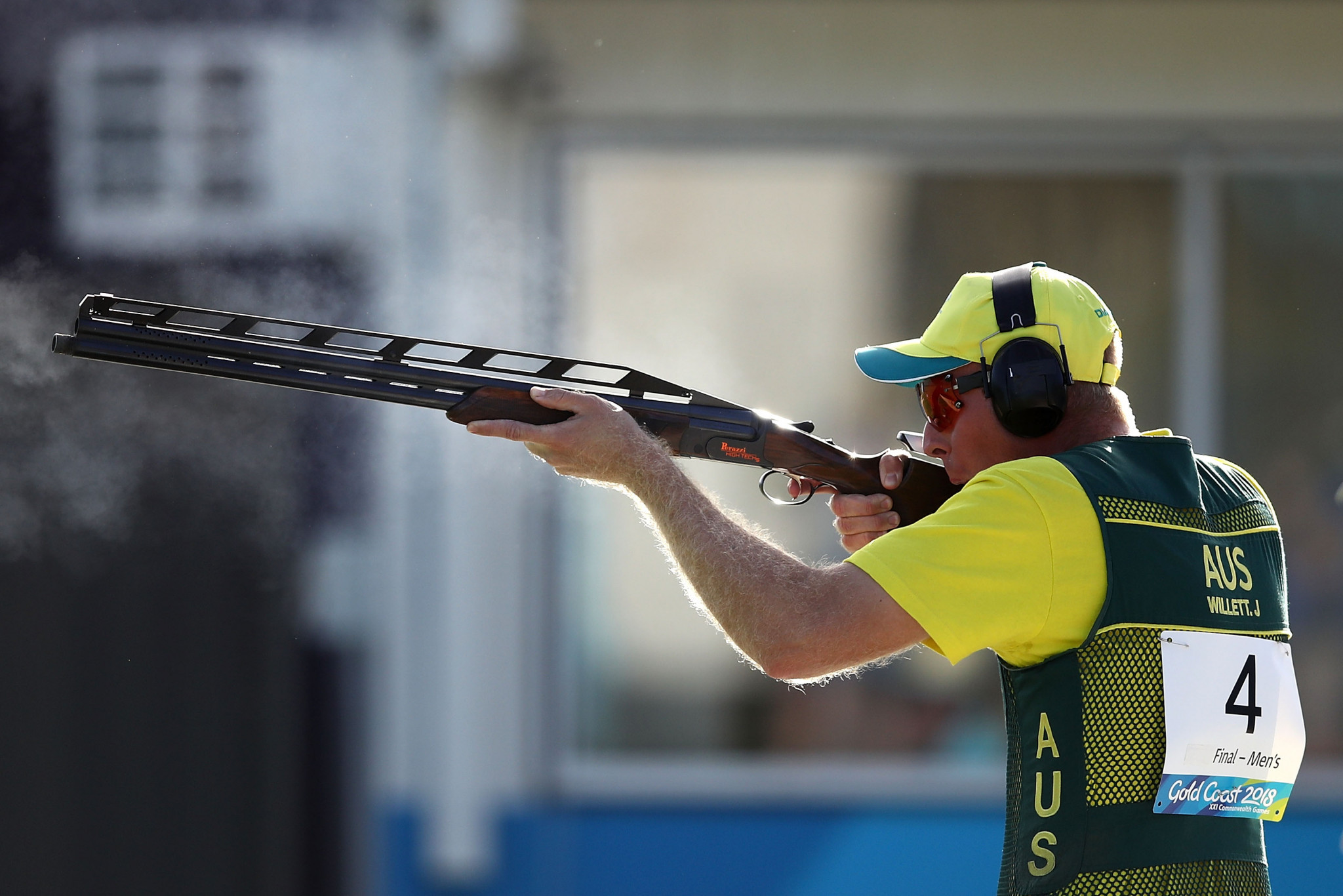James Willett made it two gold medals in two days at the International Shooting Sport Federation World Cup in Acapulco ©Getty Images