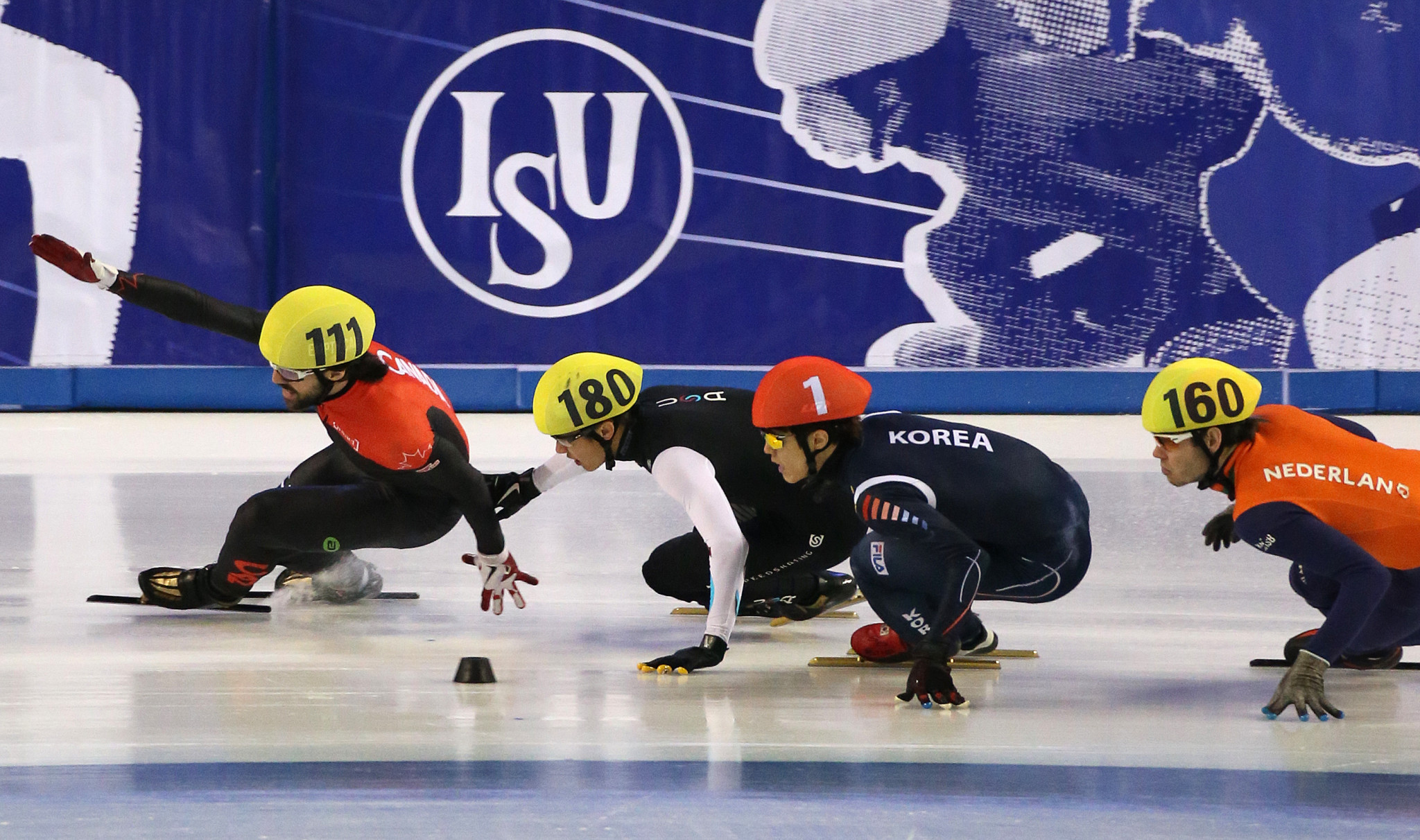 Debrecen also staged the 2013 World Short Track Championships ©Getty Images