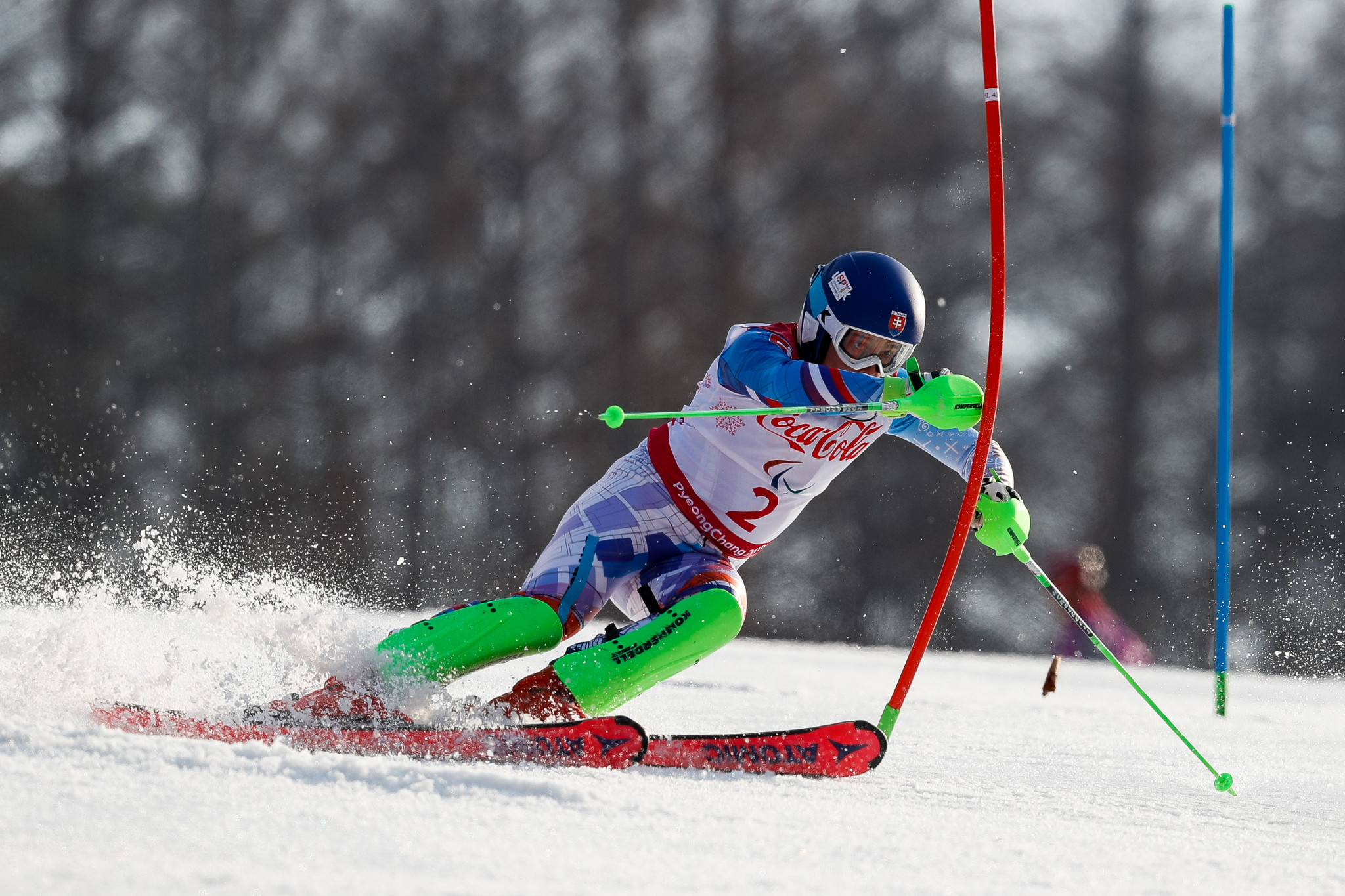 Slovakia's Haraus caps off World Para Alpine Skiing World Cup season with victory