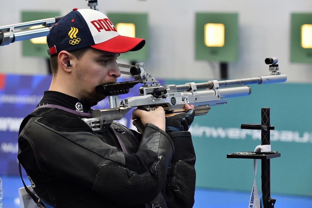 Russia enjoyed a good air rifle day in Croatia ©ESC