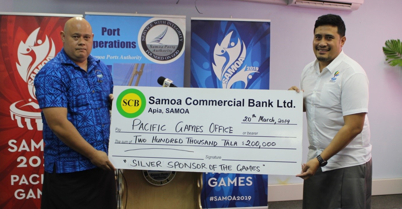 Samoa Ports Authority sign-up as Pacific Games sponsor