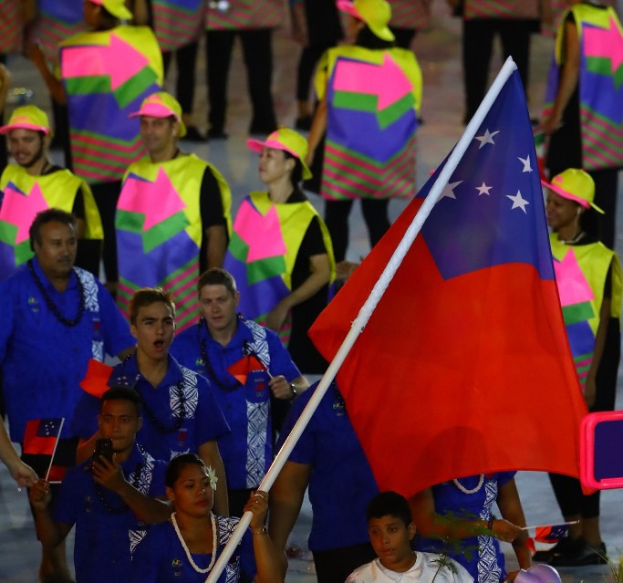 Samoa is preparing to host the Pacific Games this year ©Getty Images