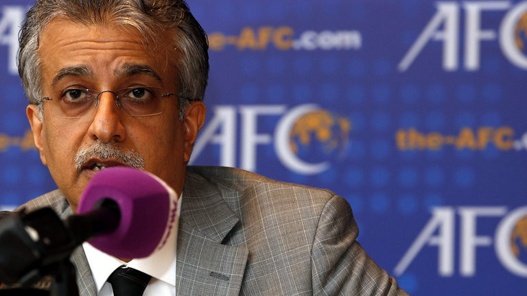 Sheikh Salman on course for re-election as Asian Football Confederation President unopposed after withdrawal of UAE rival