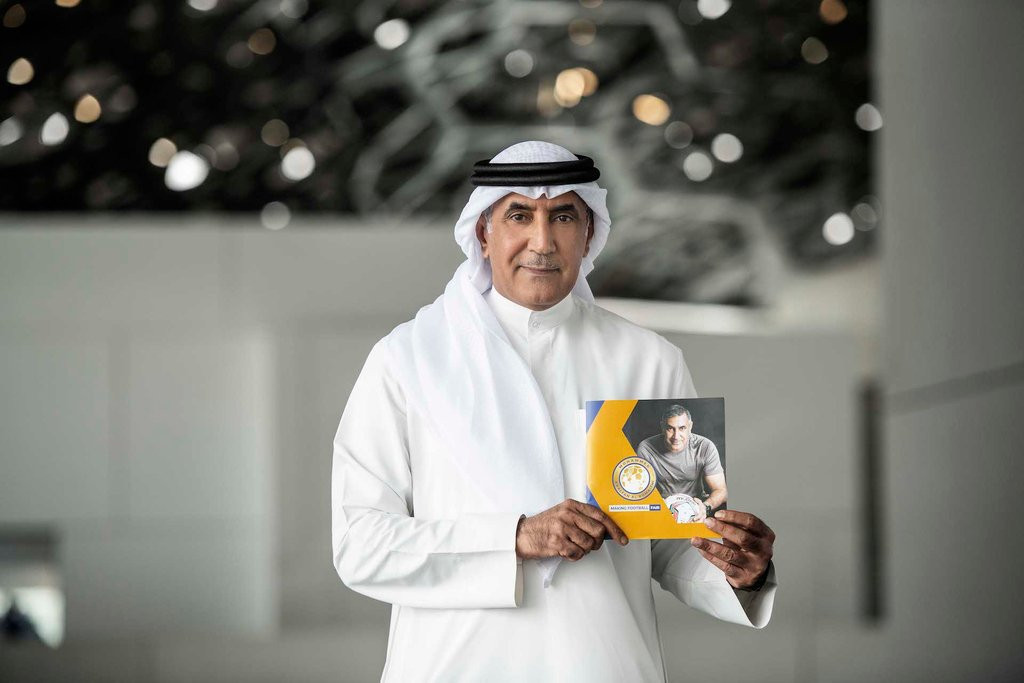 Mohammed Khalfan Al Romaithi had launched his campaign to become President of the Asian Football Confederation earlier this month in Abu Dhabi but has now withdrawn ©Twitter