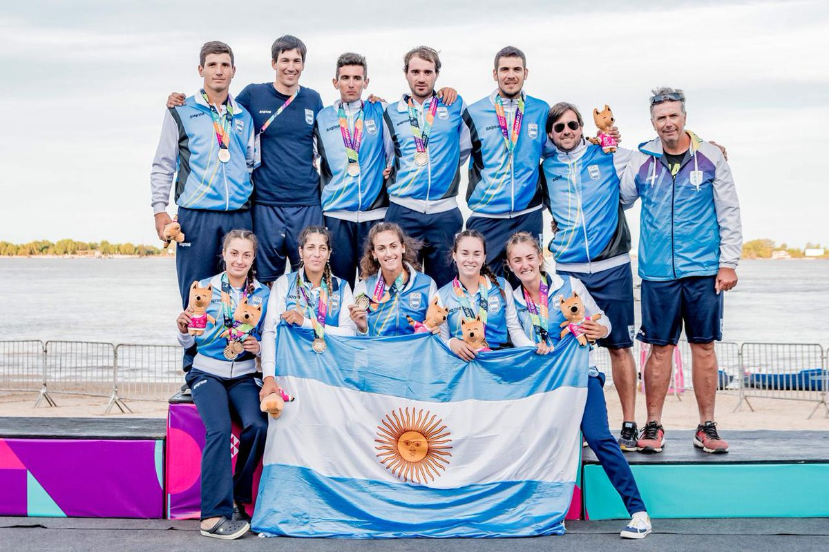 Hosts Argentina claim double rowing gold on day eight of South American Beach Games