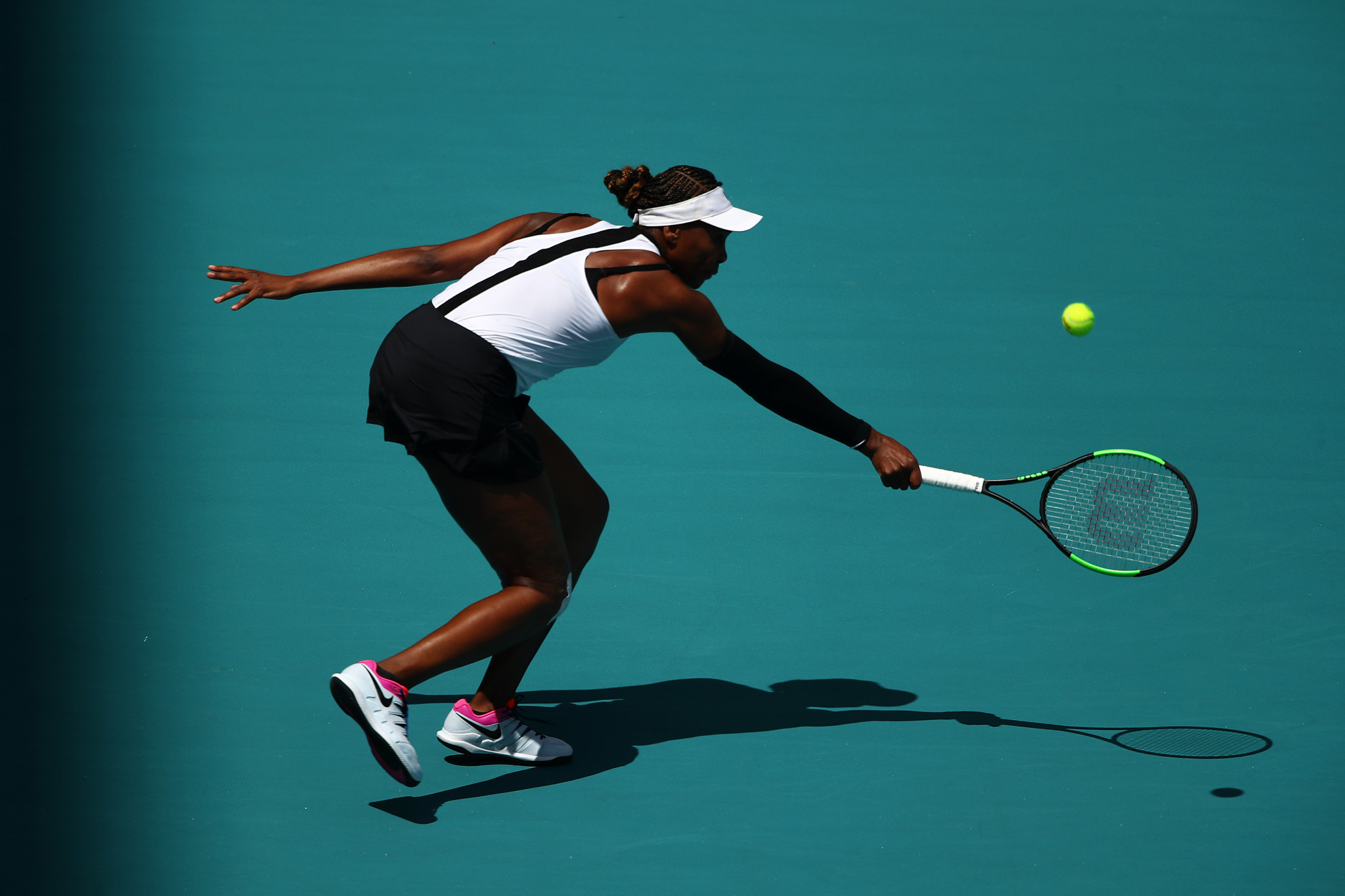 American veteran Venus Williams booked her place in the second round in Miami ©Getty Images