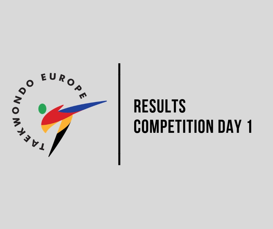 Russia dominate under-21 events on opening day of World Taekwondo Europe Multi European Games