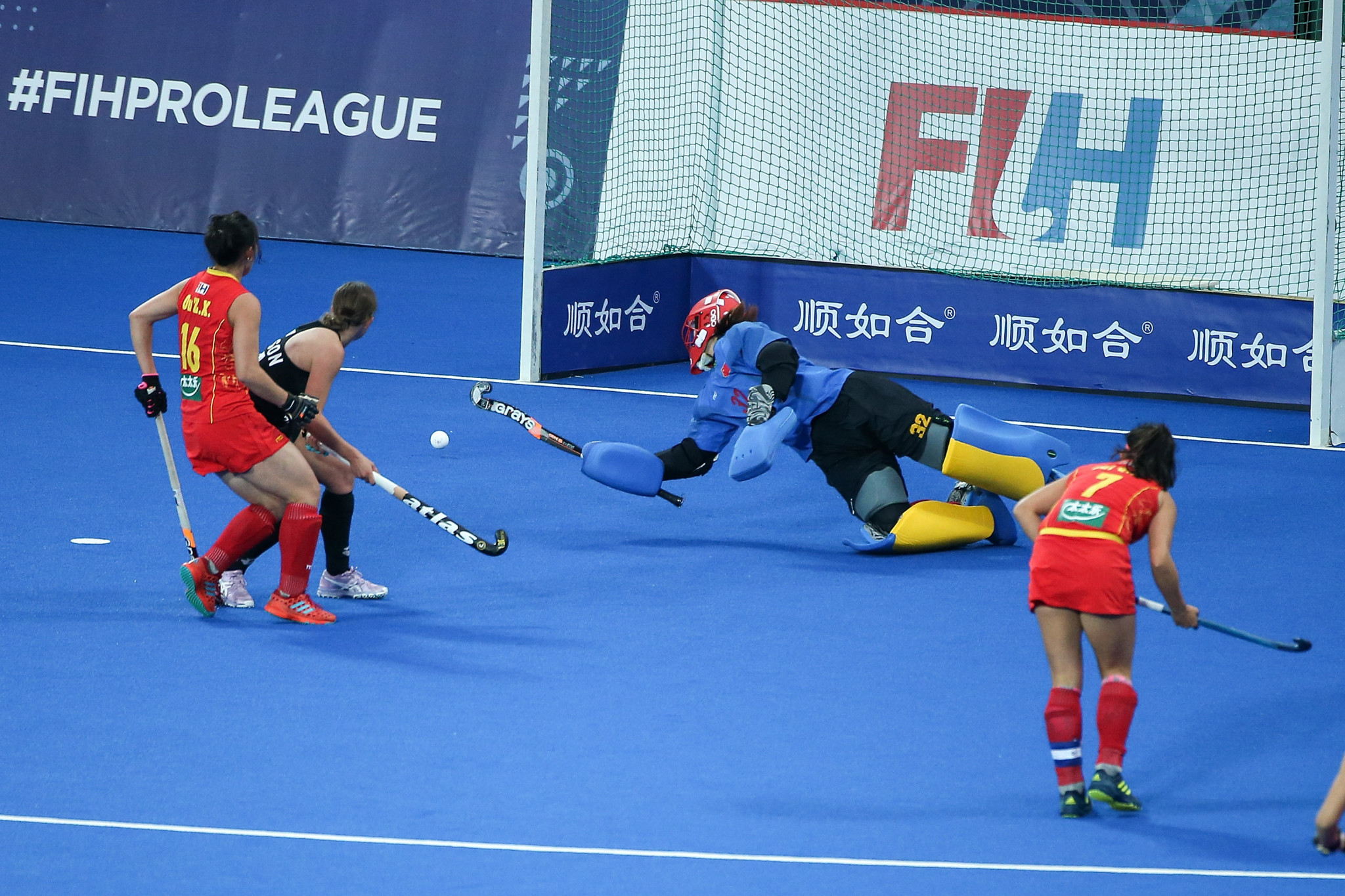 China win eight-goal thriller against New Zealand in women's FIH Pro League