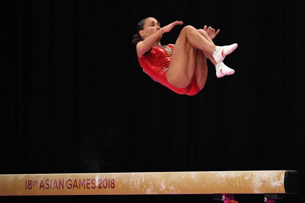 Gymnast Oksana Chusovitina still hopes to compete at Tokyo 2020 ©Getty Images