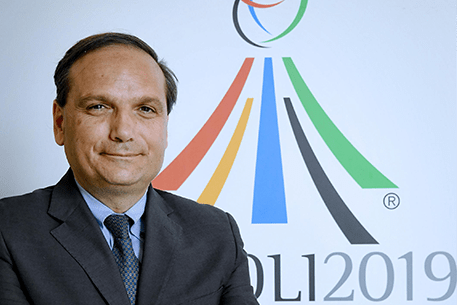 Naples 2019 Special Commissioner Gianluca Basile is confident all venues will be completed in time for this year's Summer Universiade ©Naples 2019