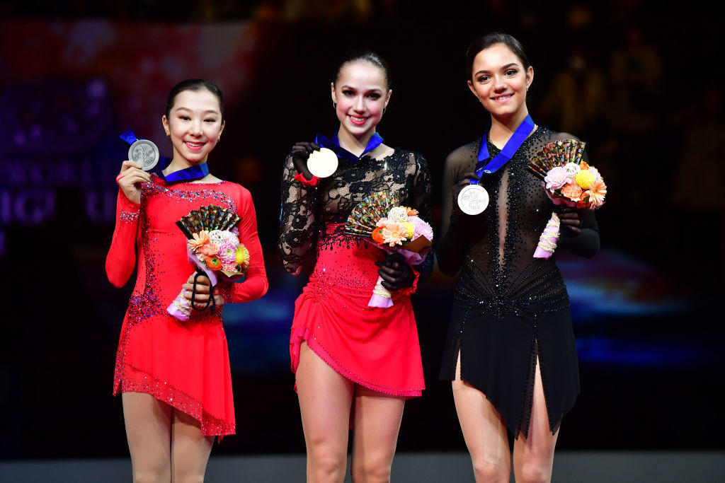 Russia's Zagitova cruises to women's gold medal at ISU World Figure Skating Championships