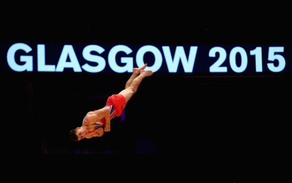 In pictures: 2015 Artistic Gymnastics World Championships day three of competition