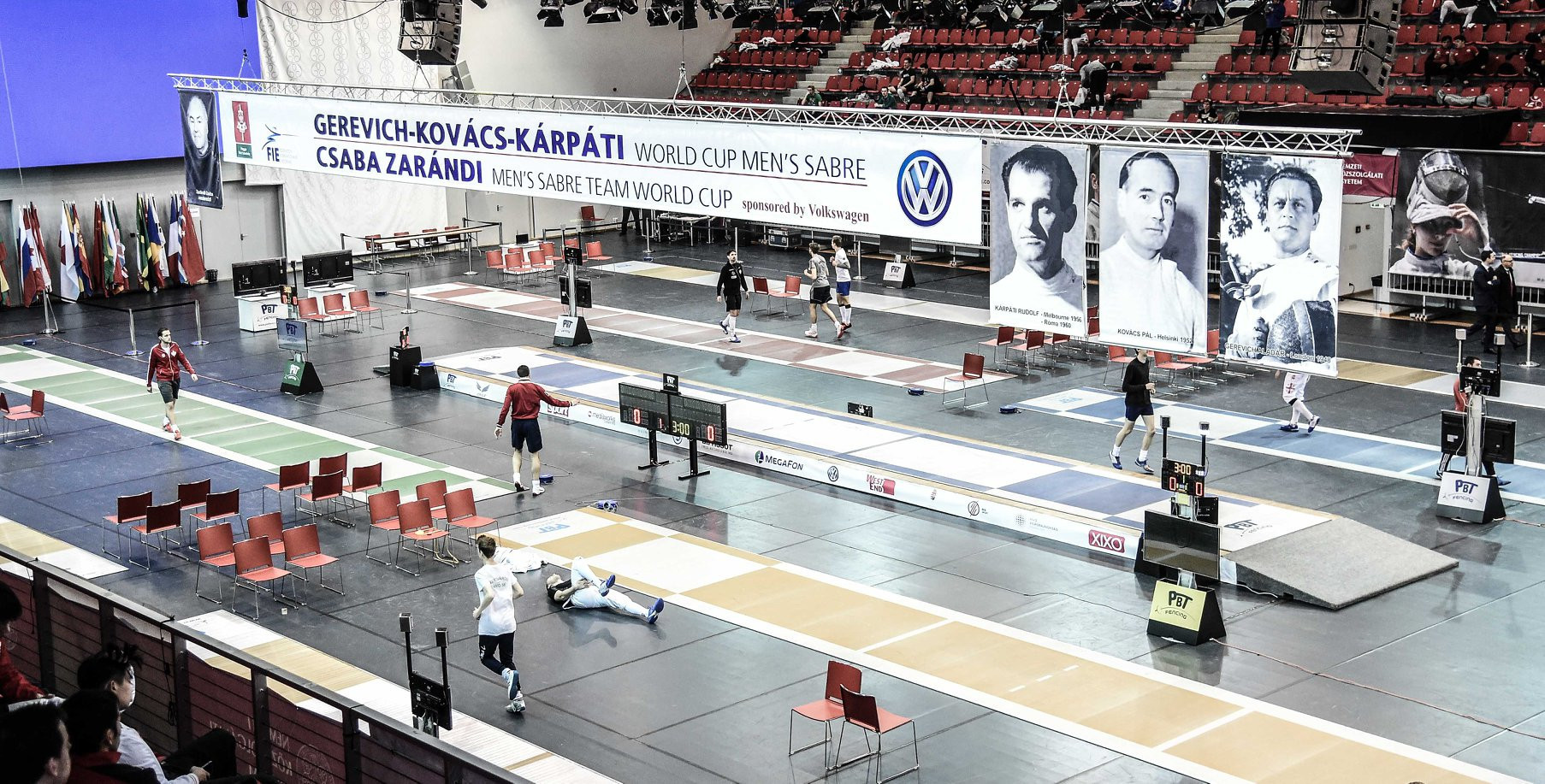 Top seed Dershwitz to begin FIE Men's Sabre World Cup campaign against home favourite in Budapest