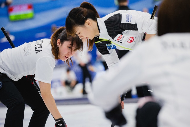 China, Japan, South Korea and Switzerland claim remaining play-off places at World Women's Curling Championship