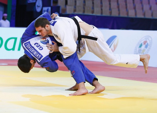 Gviniashvili bows out of junior judo ranks with world title in Abu Dhabi