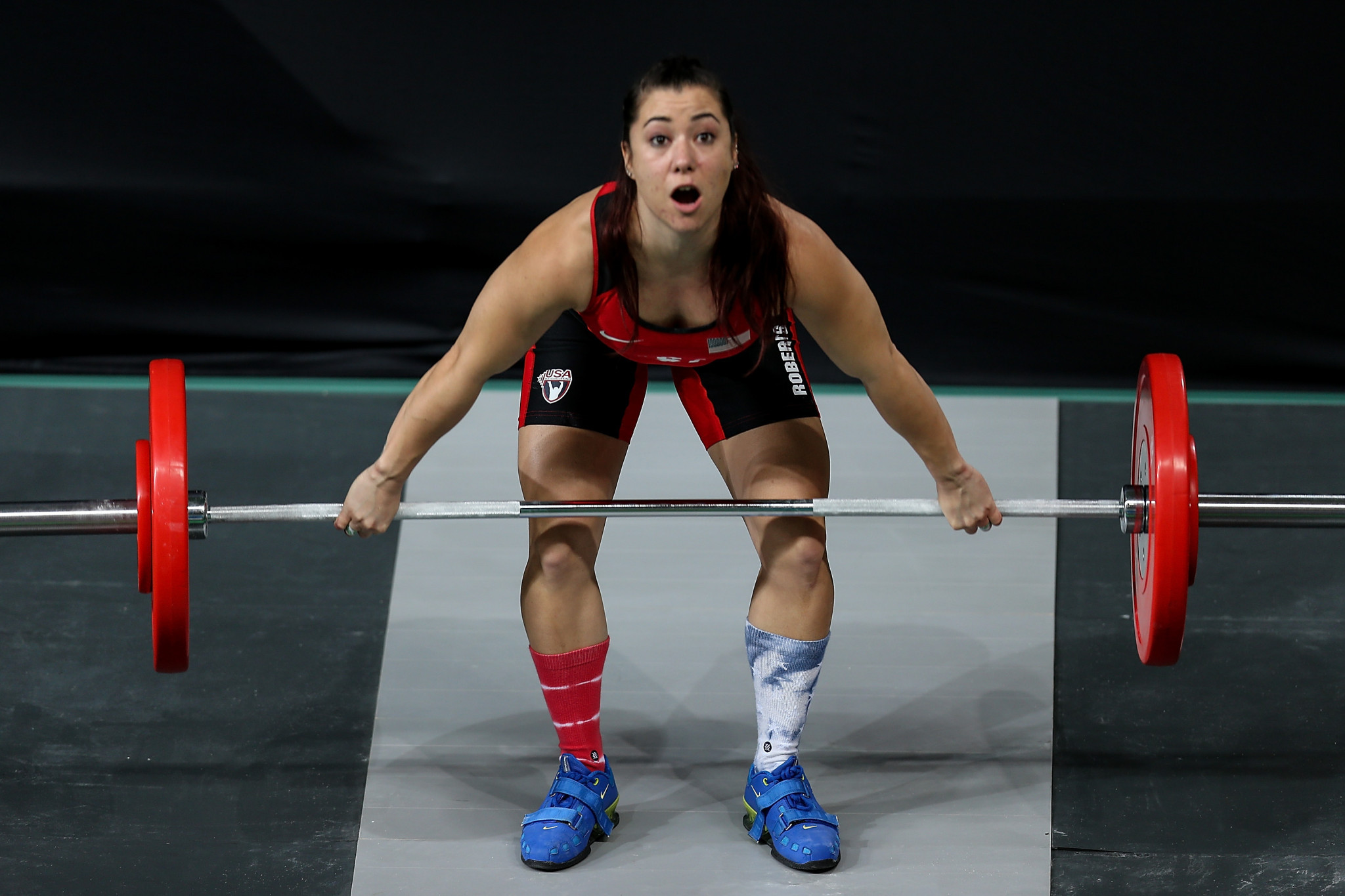 American weightlifter Roberts issues lawsuit over rape claim against team-mate
