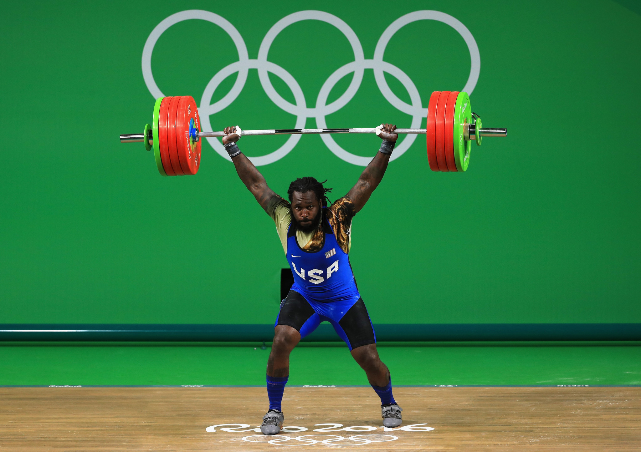 Kendrick Farris has criticised USA Weightlifting ©Getty Images