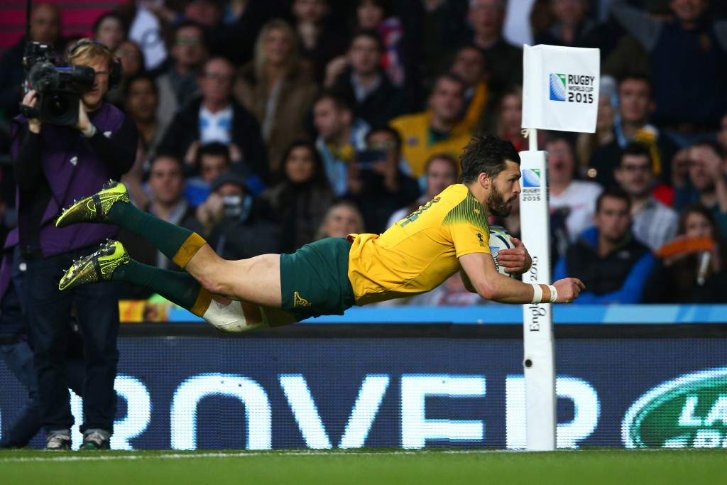Ashley-Cooper bags hat-trick as Australia set up Rugby World Cup final clash with New Zealand