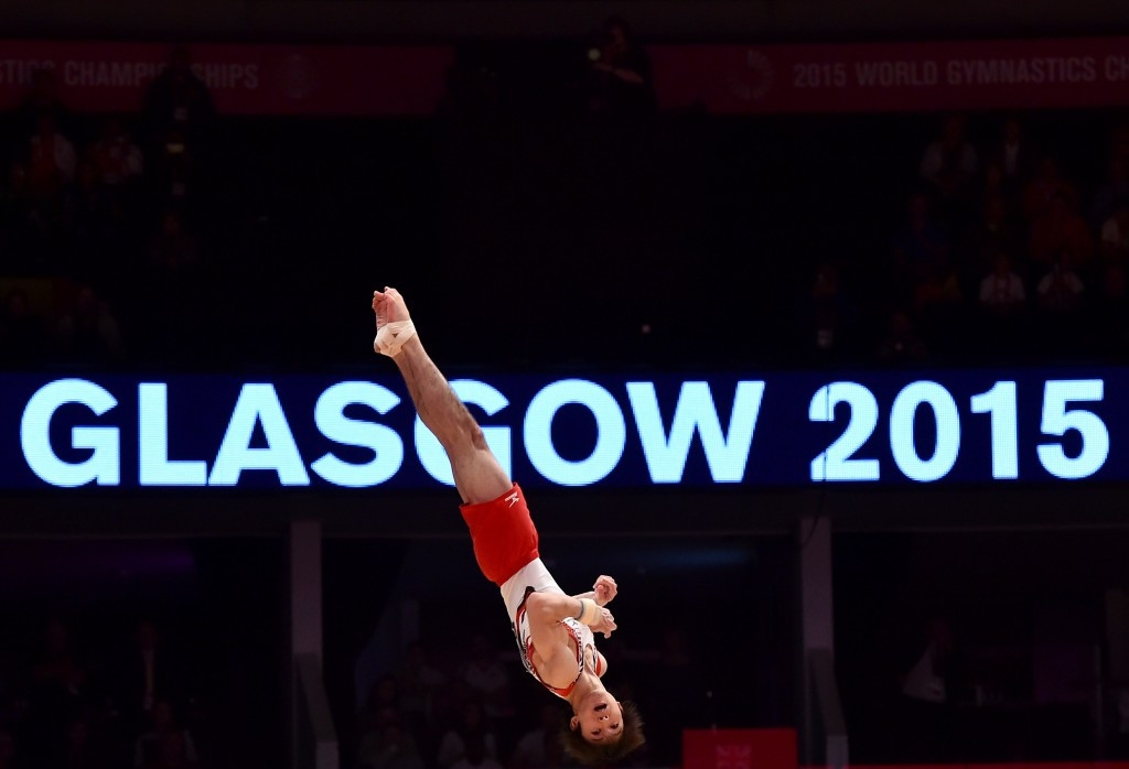 Japan edge defending champions China on fascinating day of men's qualification at Artistic Gymnastics World Championships