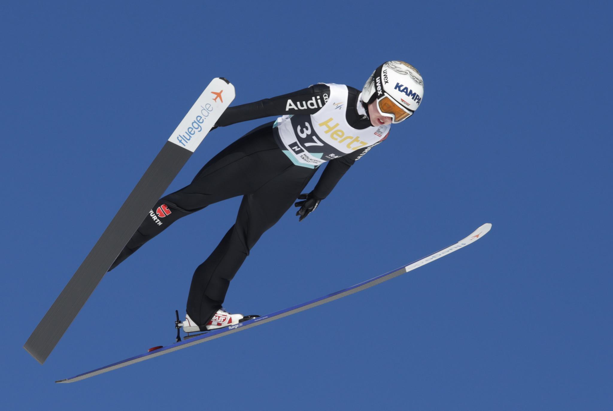 Juliane Seyfarth won her third successive women's World Cup event ©Getty Images