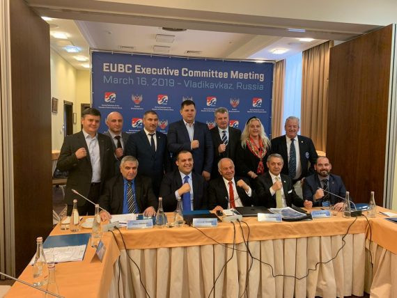 The Russian official's appointment was confirmed at the Executive Committee meeting in Vladikavkaz ©EUBC