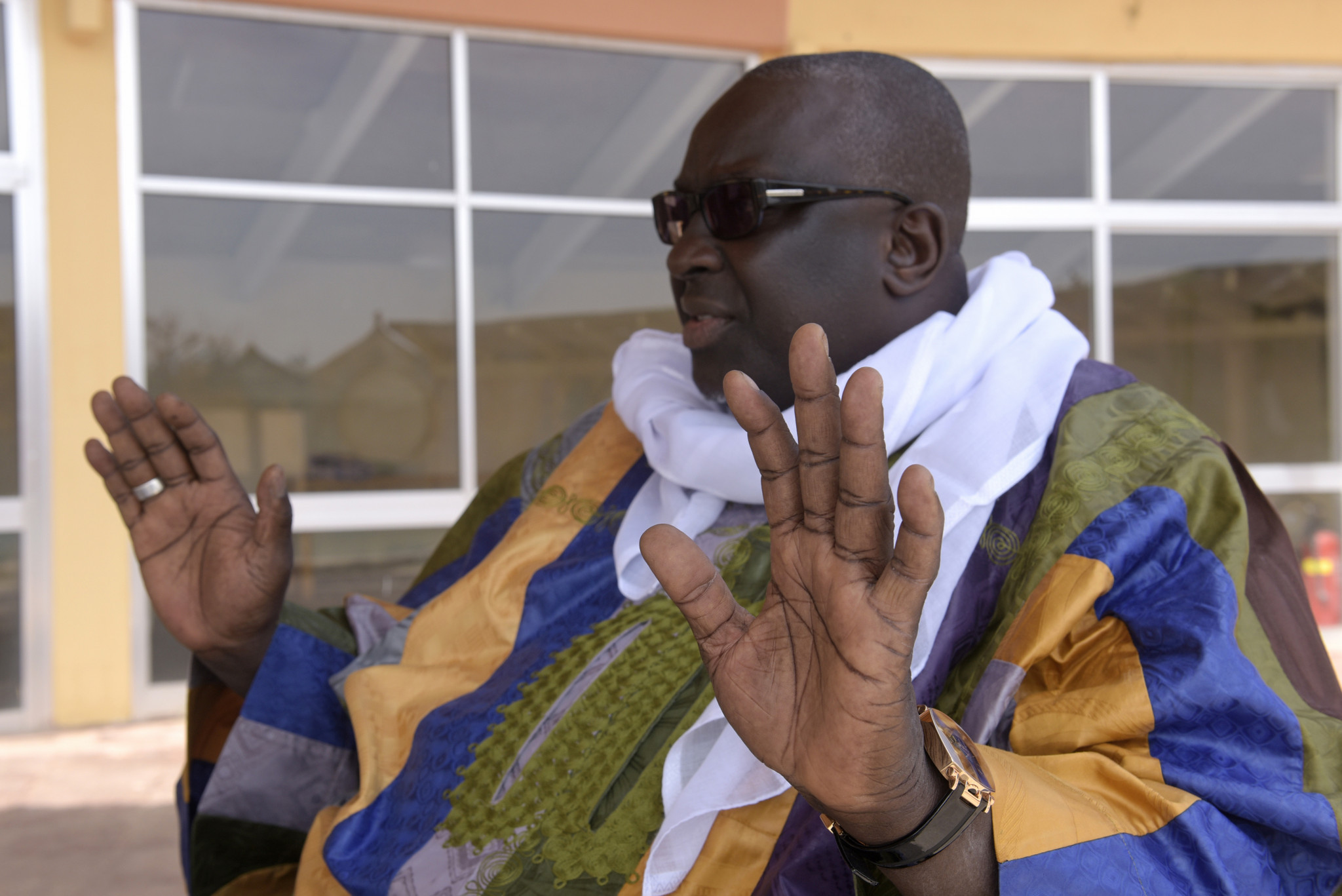 Papa Massata Diack is linked to almost all the current IOC corruption scandals but has so far evaded the French authorities because he refuses to leave Senegal ©Getty Images