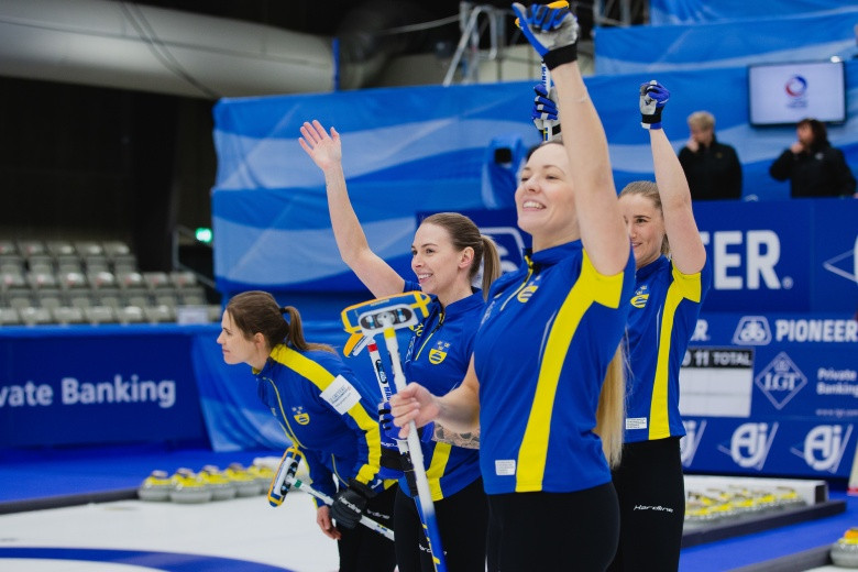 Sweden beat Japan to make World Women's Curling Championships final