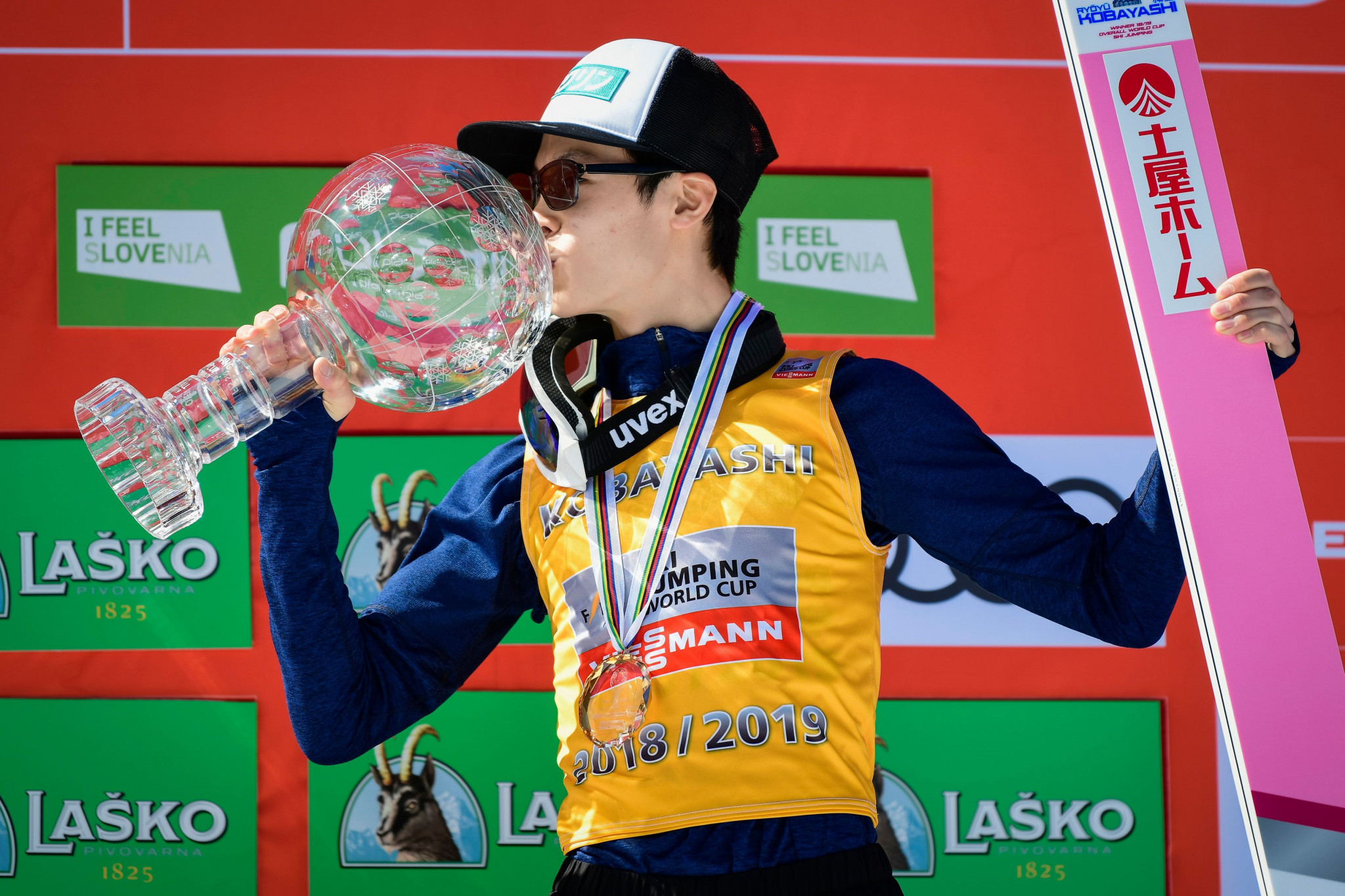 Ski Jumping World Cup champions Kobayashi and Lundby end season in style with victories