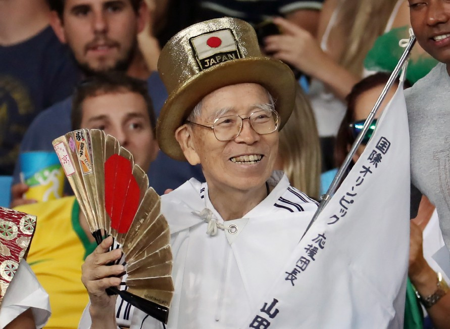 Japanese Olympic superfan Yamada dies at 92