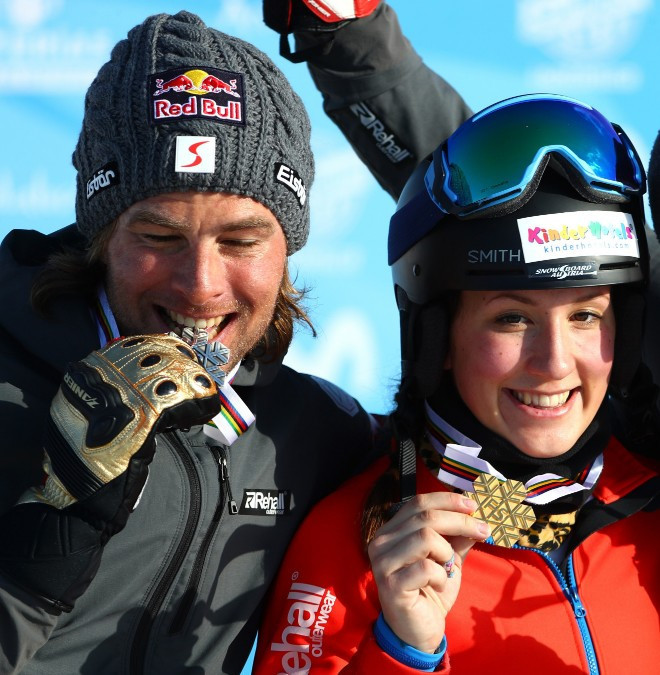 Ulbing and Karl win mixed team event as FIS Snowboard Parallel Slalom World Cup season ends