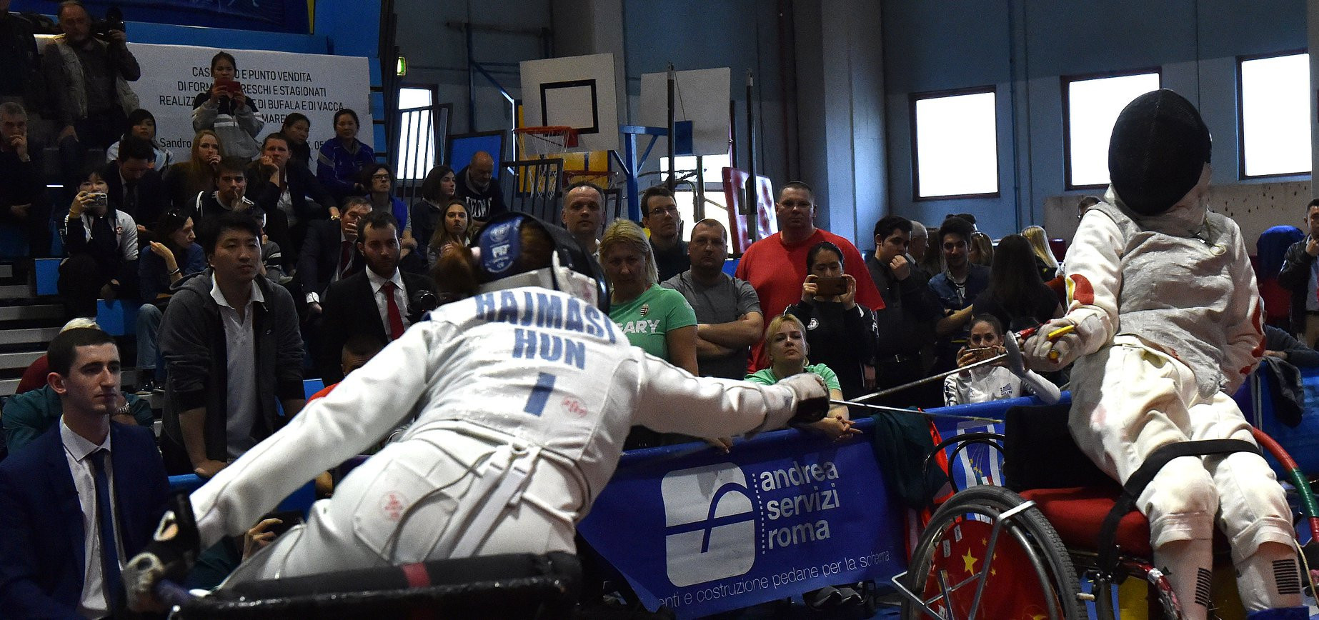 The IWAS Wheelchair Fencing World Cup took place at Via Federico Chiarugi in Pisa ©Facebook