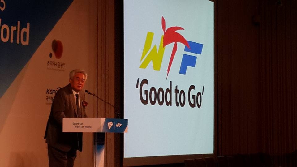 "Taekwondo Humanitarian Foundation ""Good to Go"" Choue announces at International Sport Cooperation Conference"