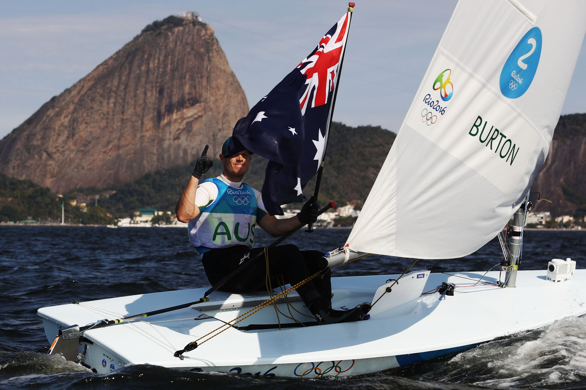 Australia have won 11 Olympic sailing gold medals, including Tom Burton in the Laser at Rio 2016 ©Getty Images