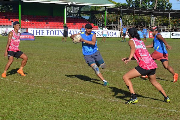 A touch rugby tournament was used as a test event for the 2019 Pacific Games in Samoa ©Pacific Games 2019