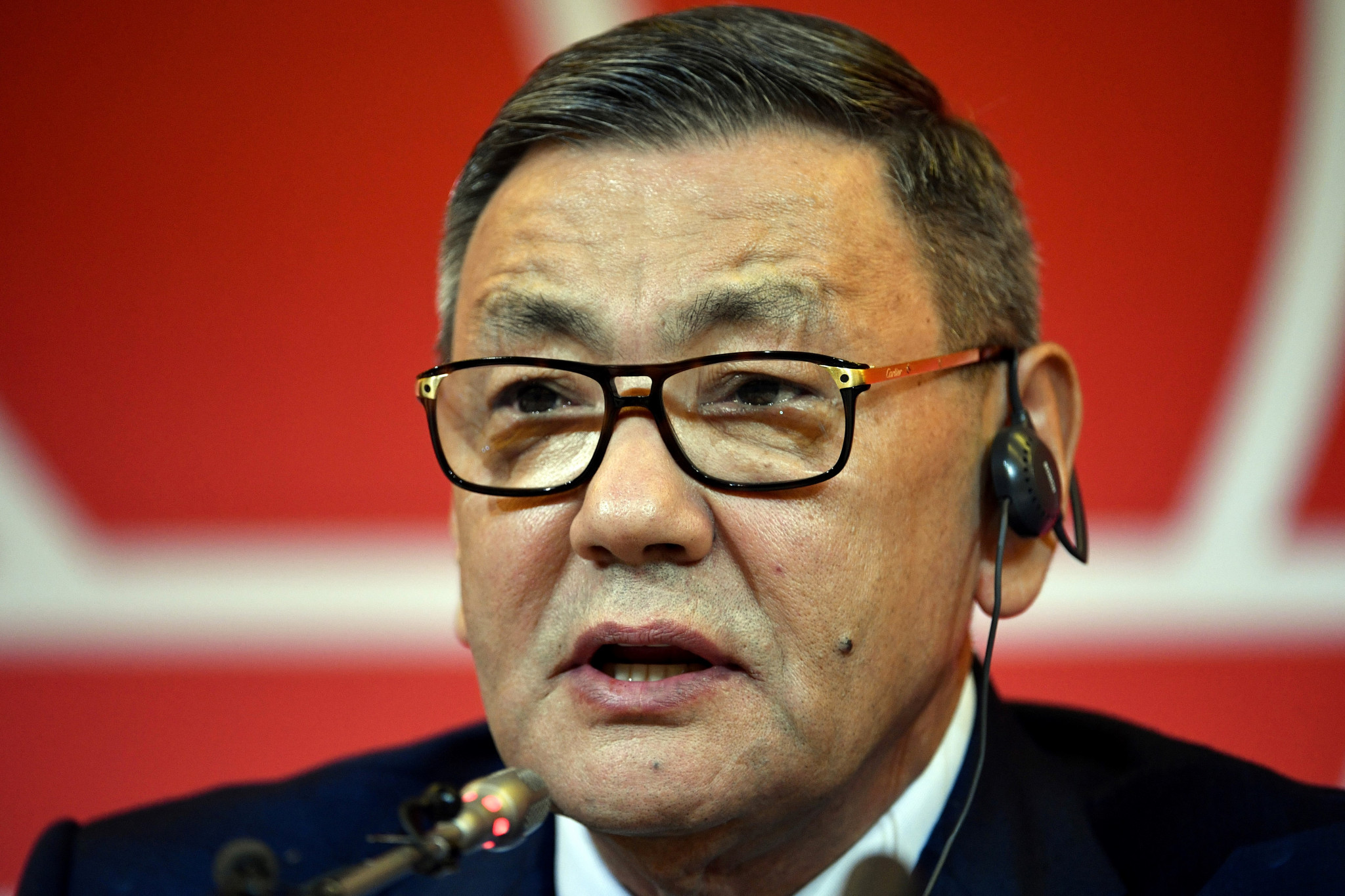 Gafur Rakhimov announced last week that he was stepping aside as AIBA President ©Getty Images