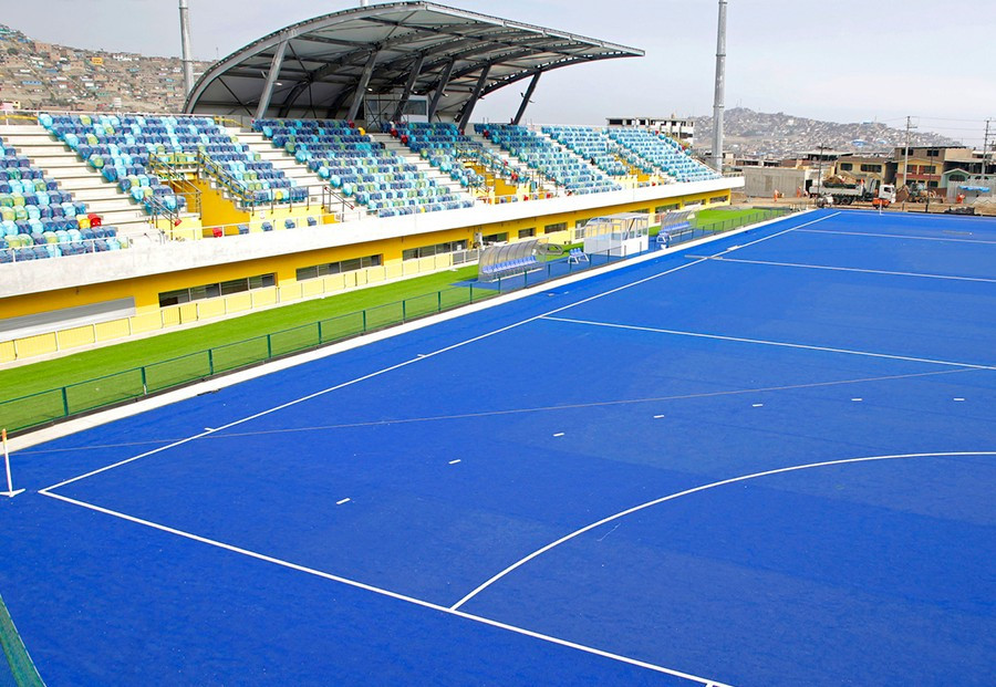 The hockey stadium for the Lima 2019 Pan American Games can hold 18,000 spectators ©Lima 2019