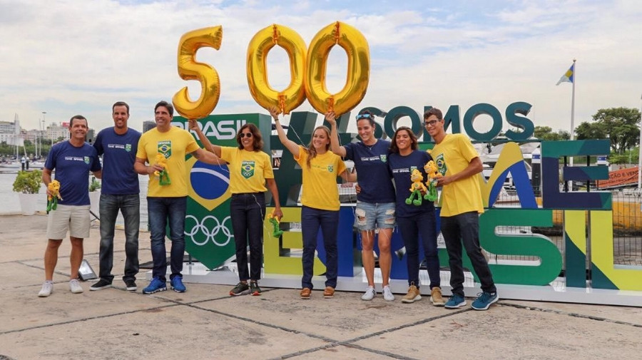 Brazilian Olympic Committee marks 500 days to go until Tokyo 2020 with unveiling of sign
