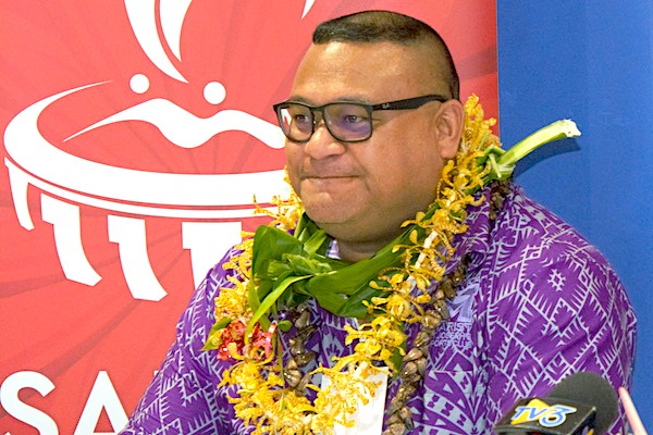 "Samoa 2019 sponsorship director labels event the ""Miracle Games"" when thanking sponsors"