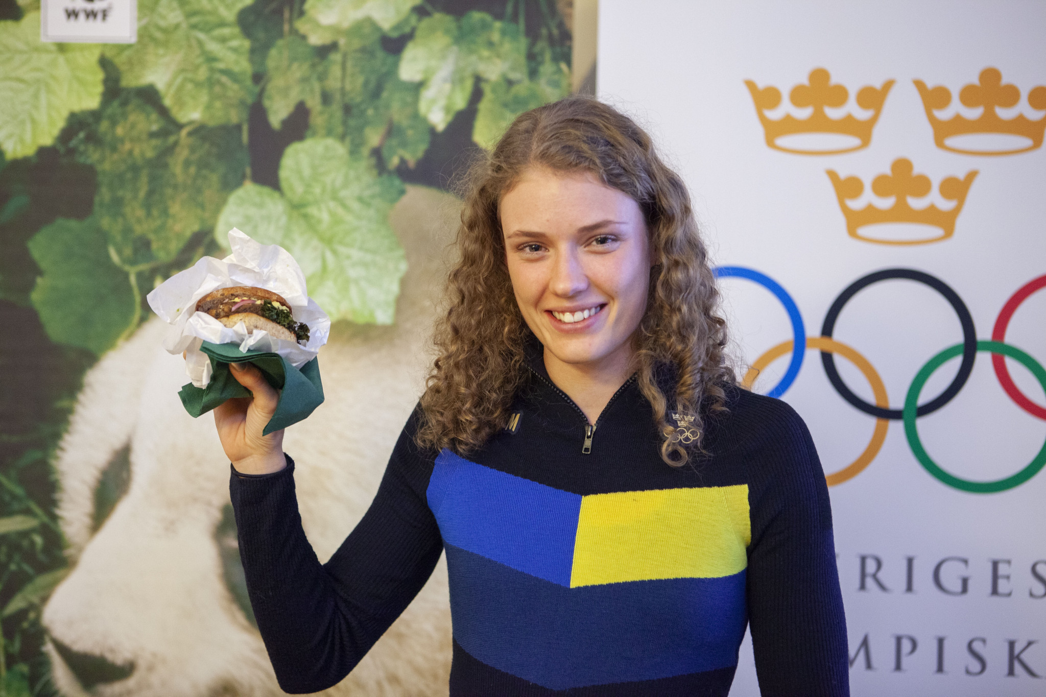 Swedish Olympic Committee and World Wildlife Fund to develop vegetarian food for athletes