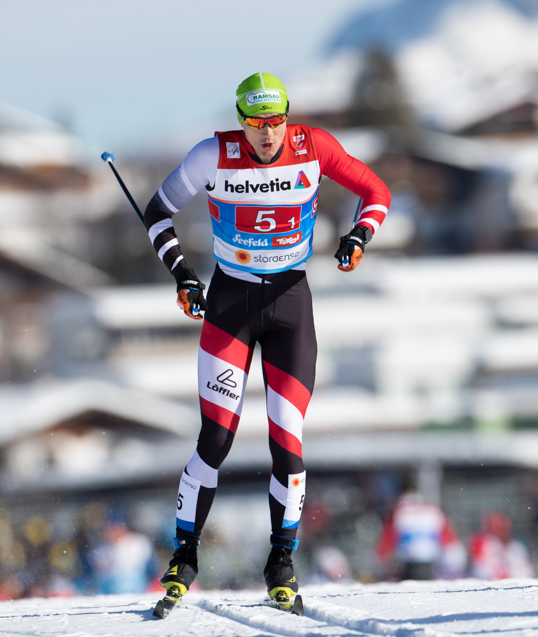 Max Hauke was one of five athletes arrested in Seefeld ©Getty Images