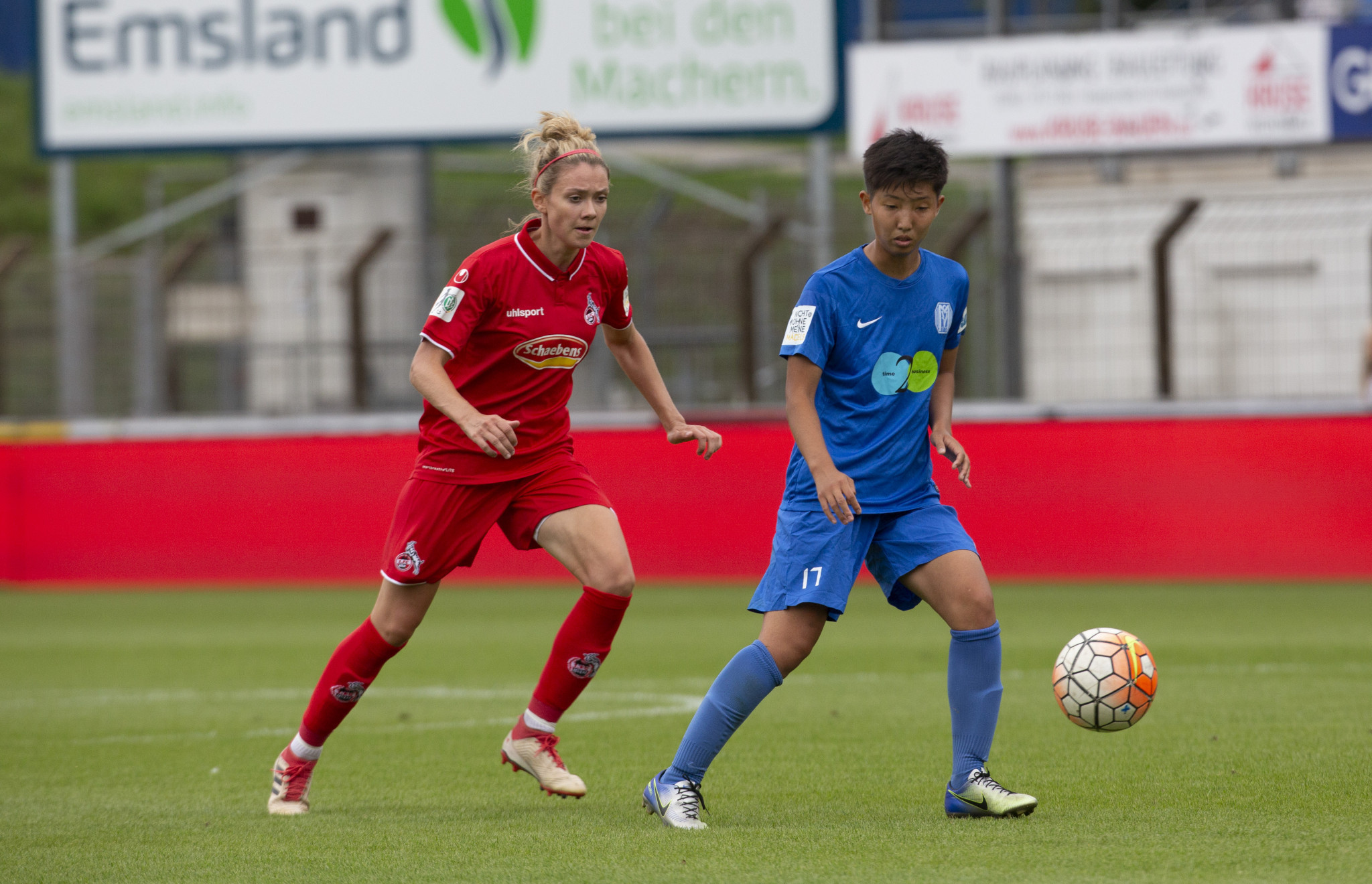 Shiho Shimoyamada plays for SV Meppen, a team in the second tier of the German Bundesliga ©Getty Images