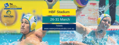 FINA Water Polo World League Intercontinental Cup tournament set to begin in Perth