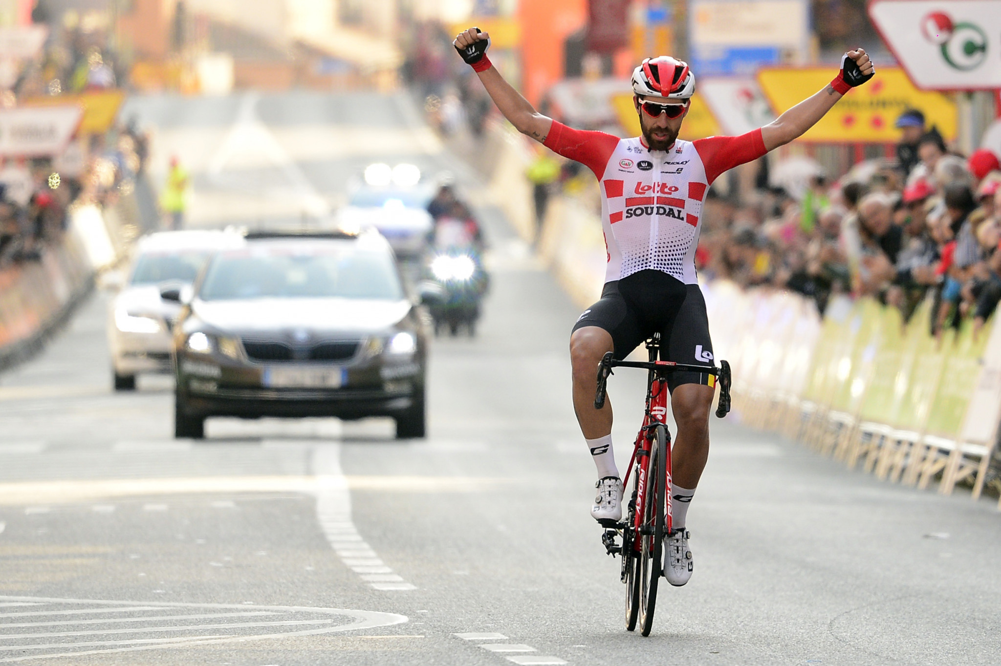 Thomas De Gendt soloed to victory on the first day of the Volta a Catalunya ©Getty Images