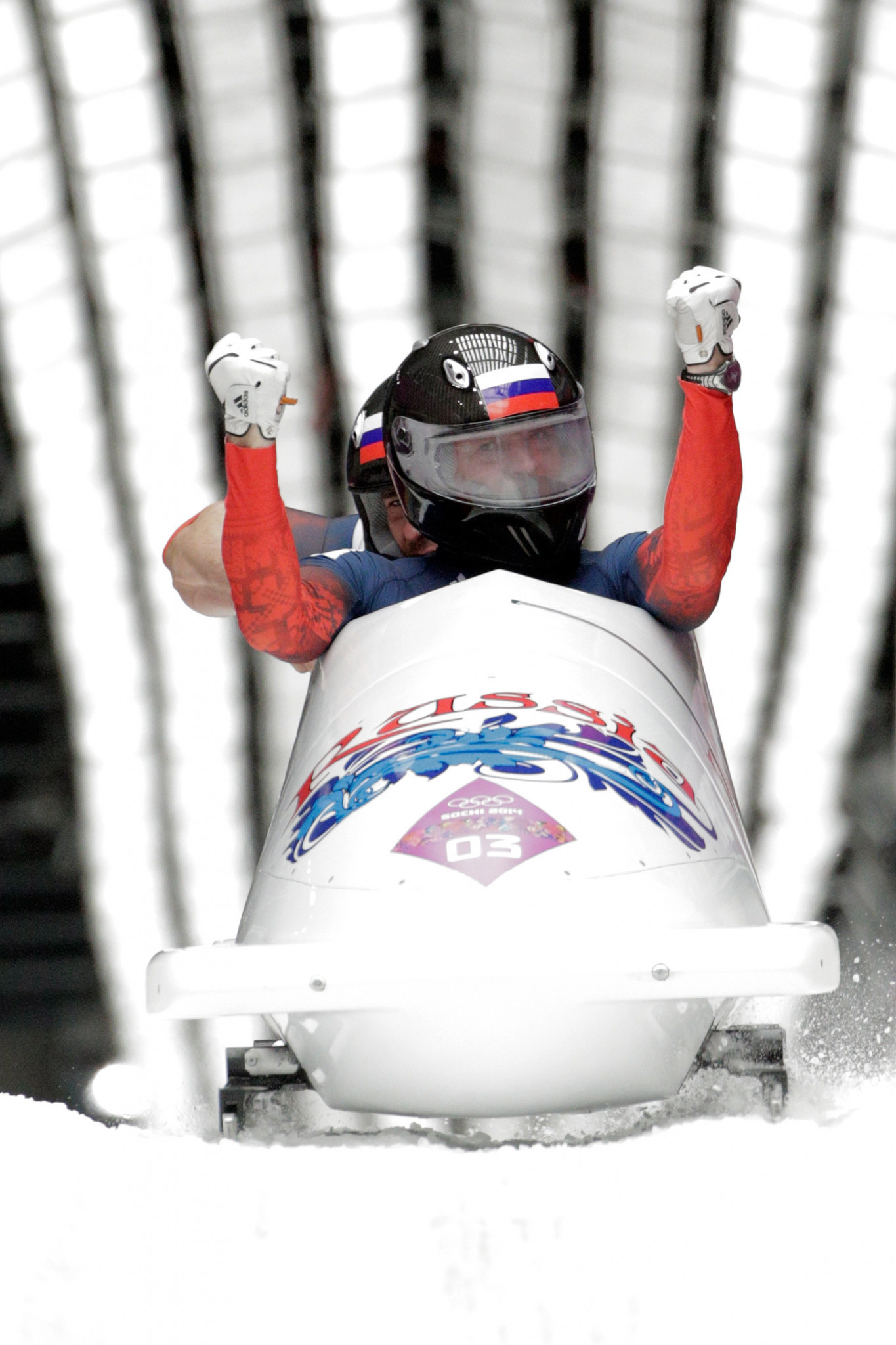 Alexander Zubkov and Alexey Voevoda won the Olympic gold medals in the two-man bobsleigh at Sochi 2014 but were subsequently stripped of the title for doping and are now banned  ©Getty Images