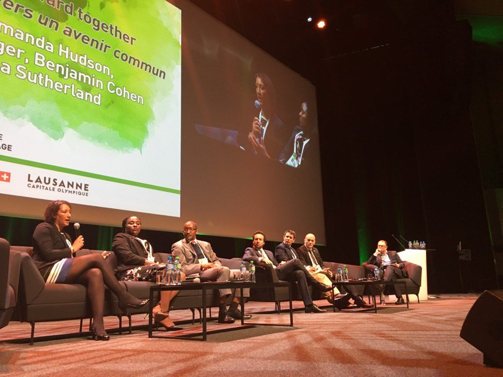 ITA director general Benjamin Cohen participated on a panel at the recent WADA symposium ©WADA