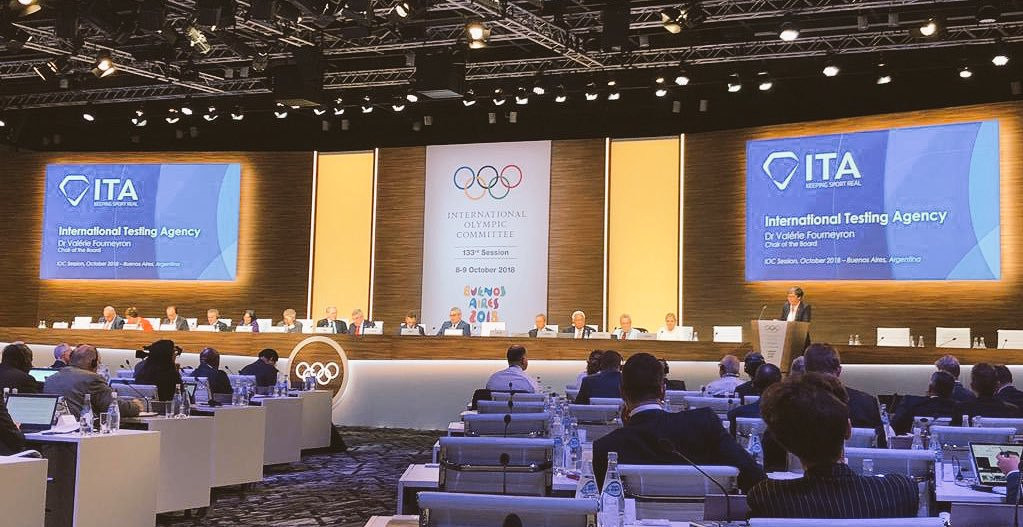 The ITA presented its mission and plan at the IOC Session in Buenos Aires last year ©ITA